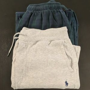 Brooks Brothers and Ralph Lauren Sweatpants